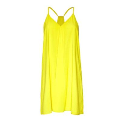 Lemon Fierra Y-Back Tank Dress