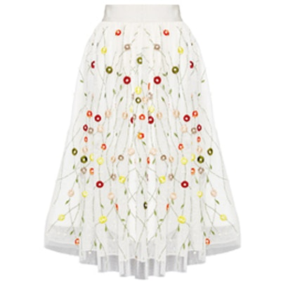 Catrina Embellished Midlength Skirt