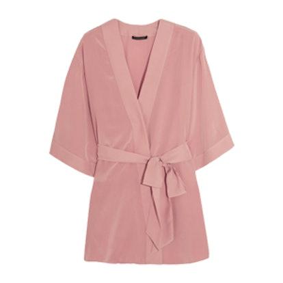 Amour Perfect Silk Crepe de Chine Robe