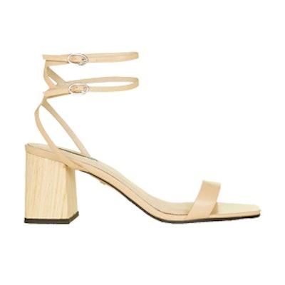 Ankle Wrap Heeled Sandal