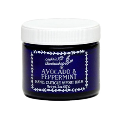 Avocado & Peppermint Hand, Cuticle & Foot Balm