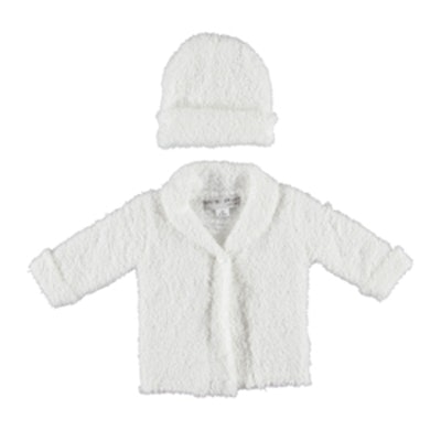 Cozy Chic Cardigan And Hat Set