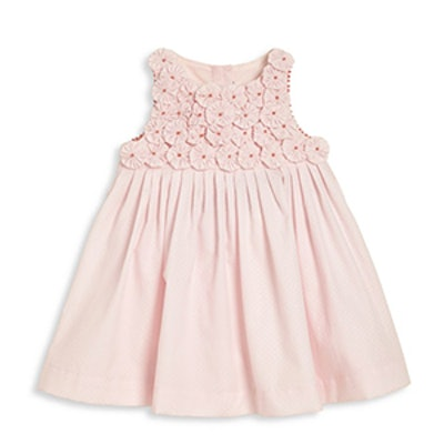 Baby's Embroidered Flower Dress