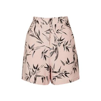 Bamboo Print Shorts