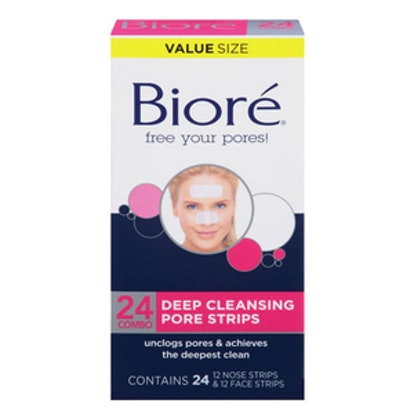 Biore Deep Cleansing Nose/Face Combo Pore Strips