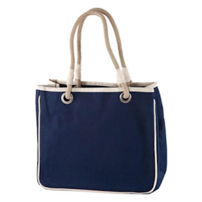 Rope Canvas Tote