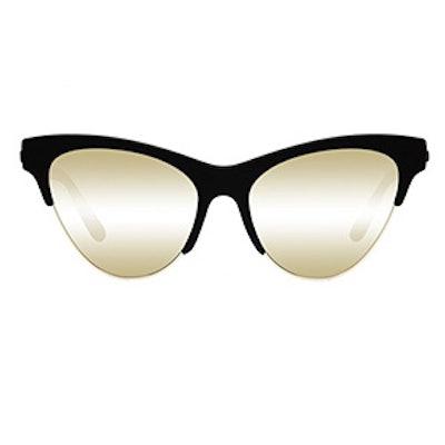 Kin Ink Black Rubber Sunglasses