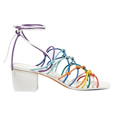 Knotted Leather Sandal