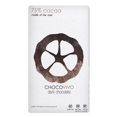 75% Cacao Dark Chocolate