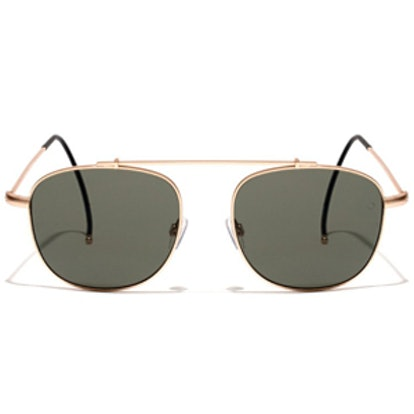 Notomy Gold Antique Sunglasses