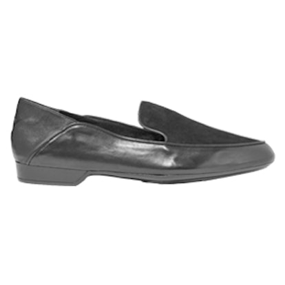 Fani Suede And Leather Loafers
