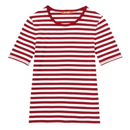 Fitted Stripe Tee