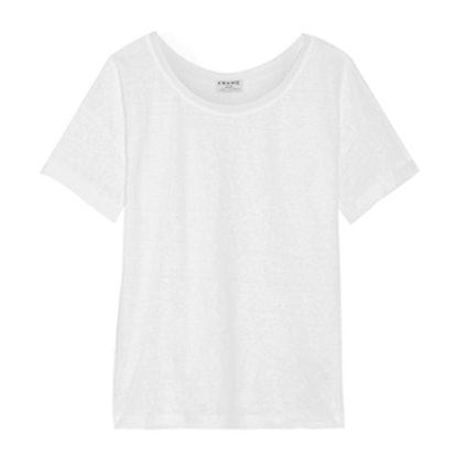 Le Slouchy Slub Linen T-Shirt