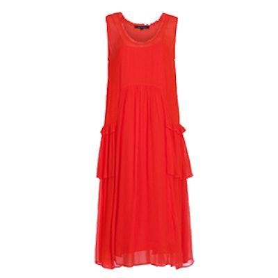 Rosie Drape Ruffled Dress