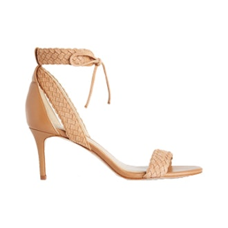 Greer Braided Suede Strappy Sandals