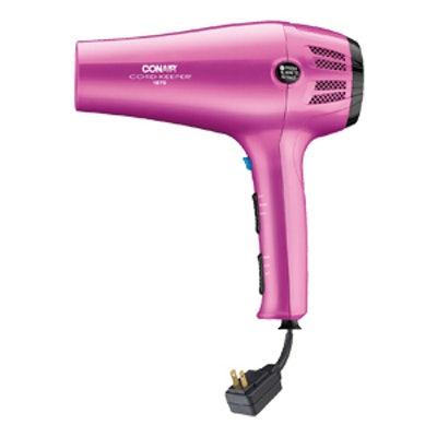 Ionic Ceramic Cord Keeper Hair Dryer