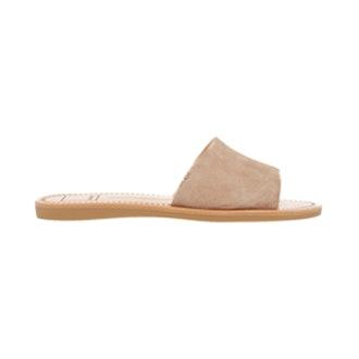 Javier Suede Slide Sandals