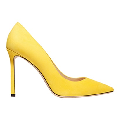 Romy Suede Point-Toe Pumps