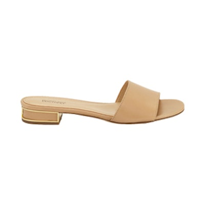 Joy Leather Slide Sandal