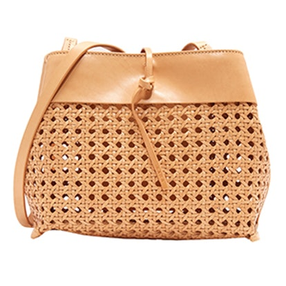 Woven Tie Cross Body Bag