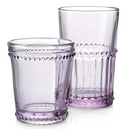 Lilac Drinking Glasses