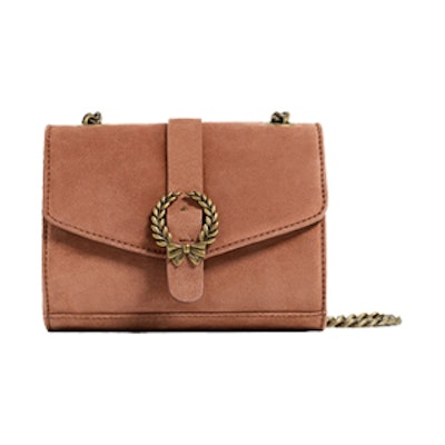 Leather Crossbody Bag With Buckle