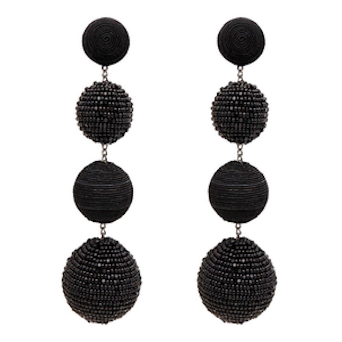 Four-Ball Earrings