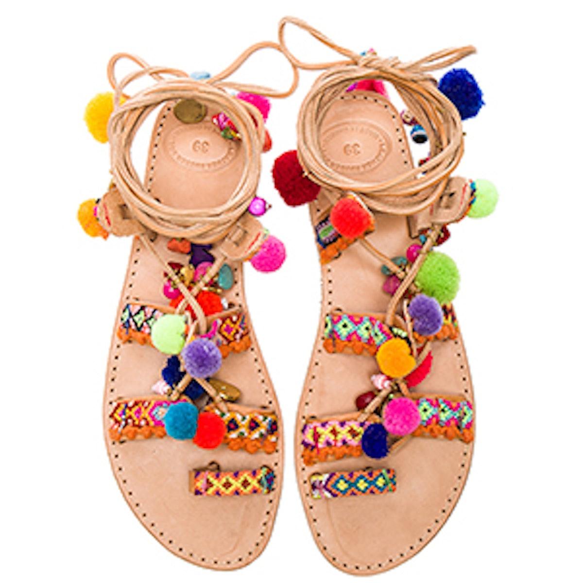 Penny Lane Leather Sandal