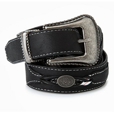 Engraved Detail Belt