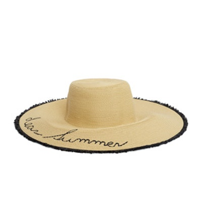 Straw Pamela Hat