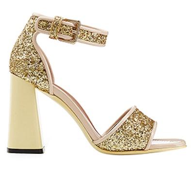 Glitter High Heel Sandal