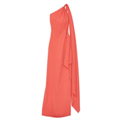 Candace One-Shoulder Gown