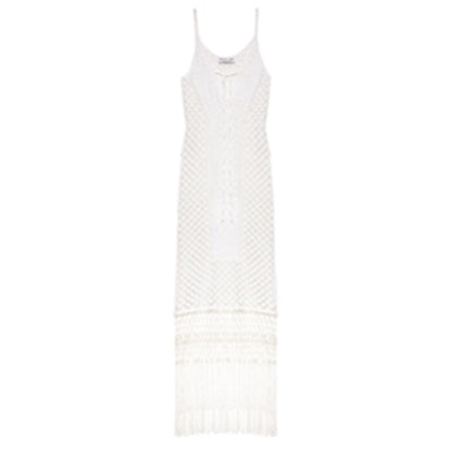Jess Fringed Knit Dress