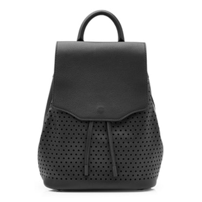 Mini Pilot Perforated Leather Backpack