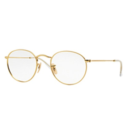 Round Gold Glasses
