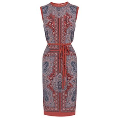 Rihanna Print Paisley Dress