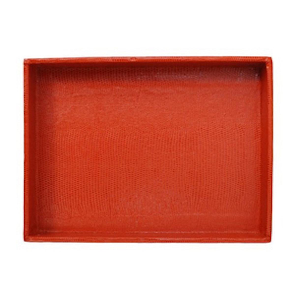 Desk Tray in Orange