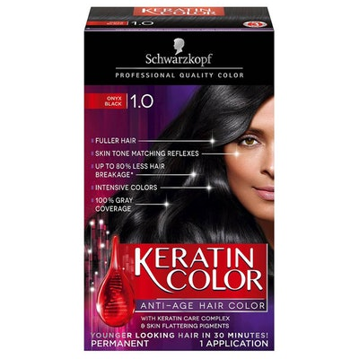 Keratin Anti-Age Hair Color