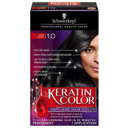 Keratin Anti-Age Hair Color