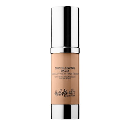 Skin Glowing Balm Makeup with Pink Peony