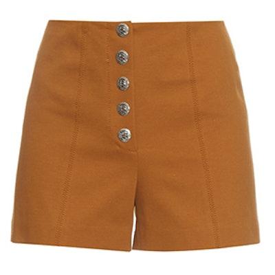 70s Stretch-Cotton Shorts