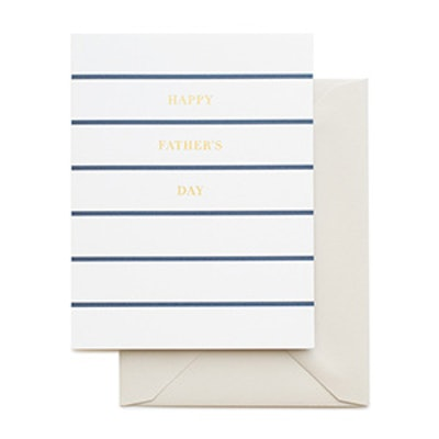 Father's Day Stripe Card