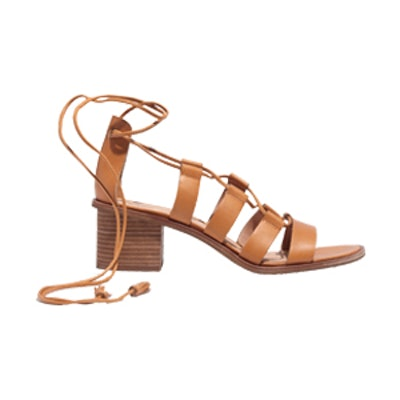 The Daniele Lace-Up Sandal