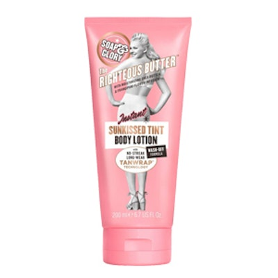The Righteous Butter Instant Sunkissed Tinted Body Lotion