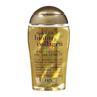 Thick & Full Biotin & Collagen Weightless Healing Oil Treatment