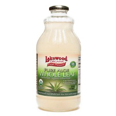 Organic Whole Leaf Aloe Juice