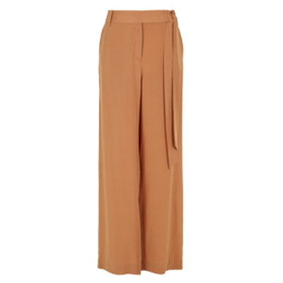 Heavy Silk Relaxed Pants