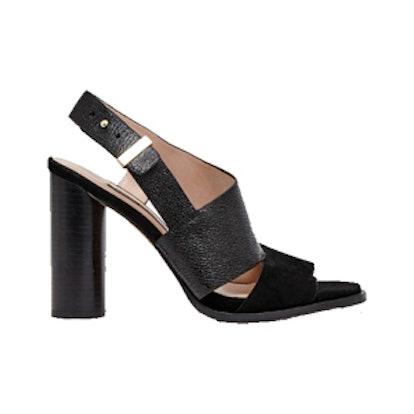 Urlian Chunky Heeled Slingback Sandals