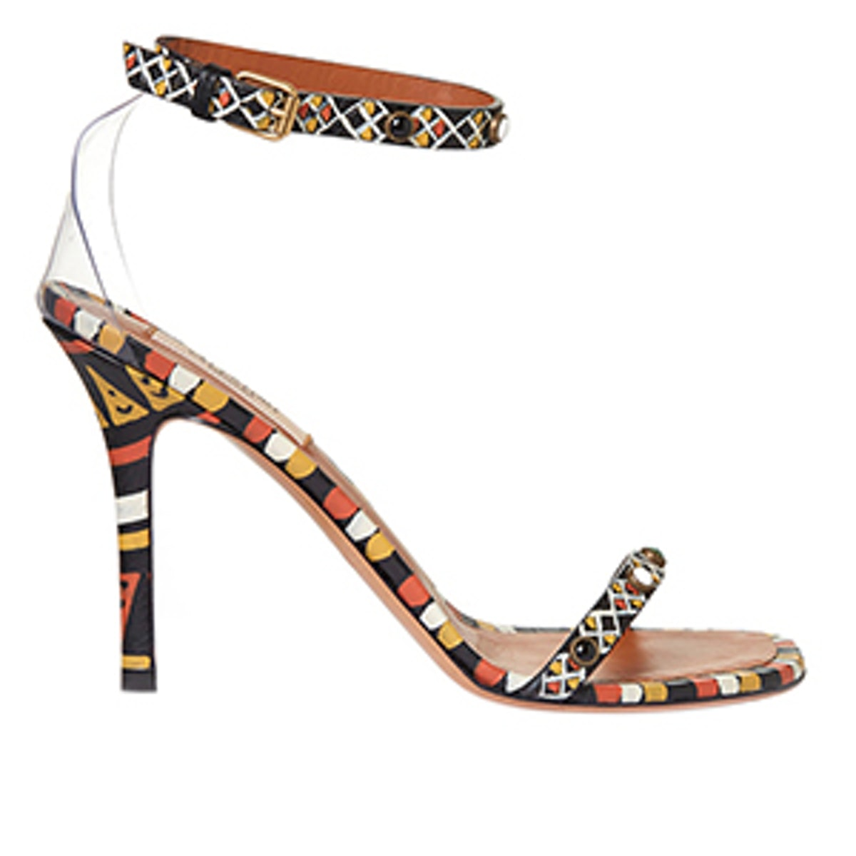 Hand Painted Leather Sandal