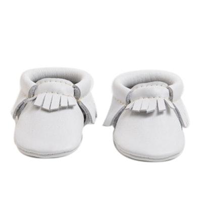 Newborn Ivory Booties